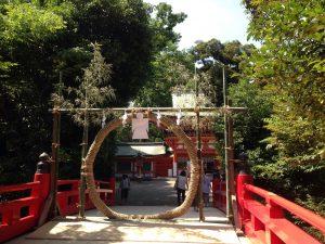 大宮氷川神社茅の輪