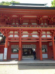 大宮氷川神社門