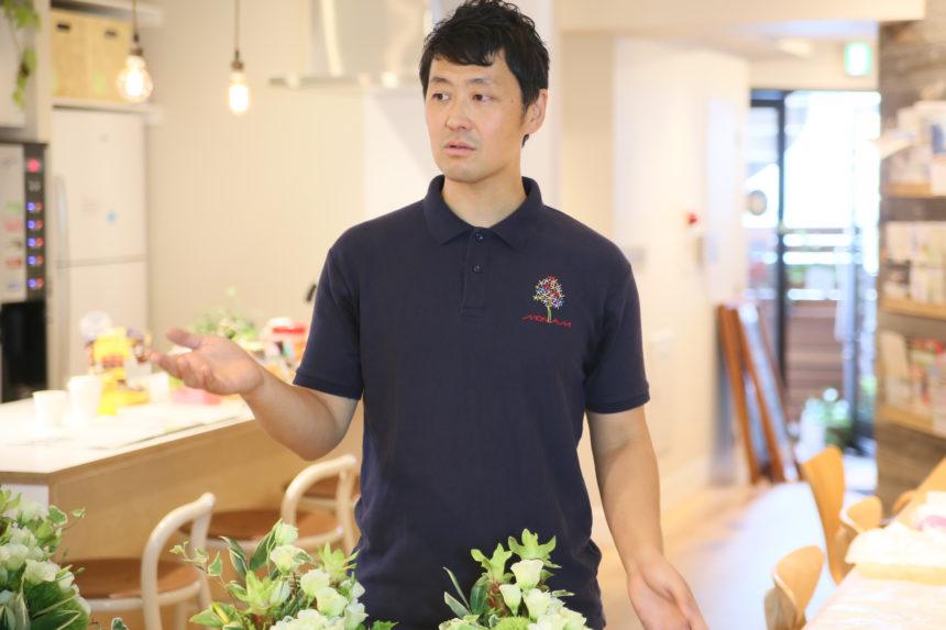 花のモナミ横山先生