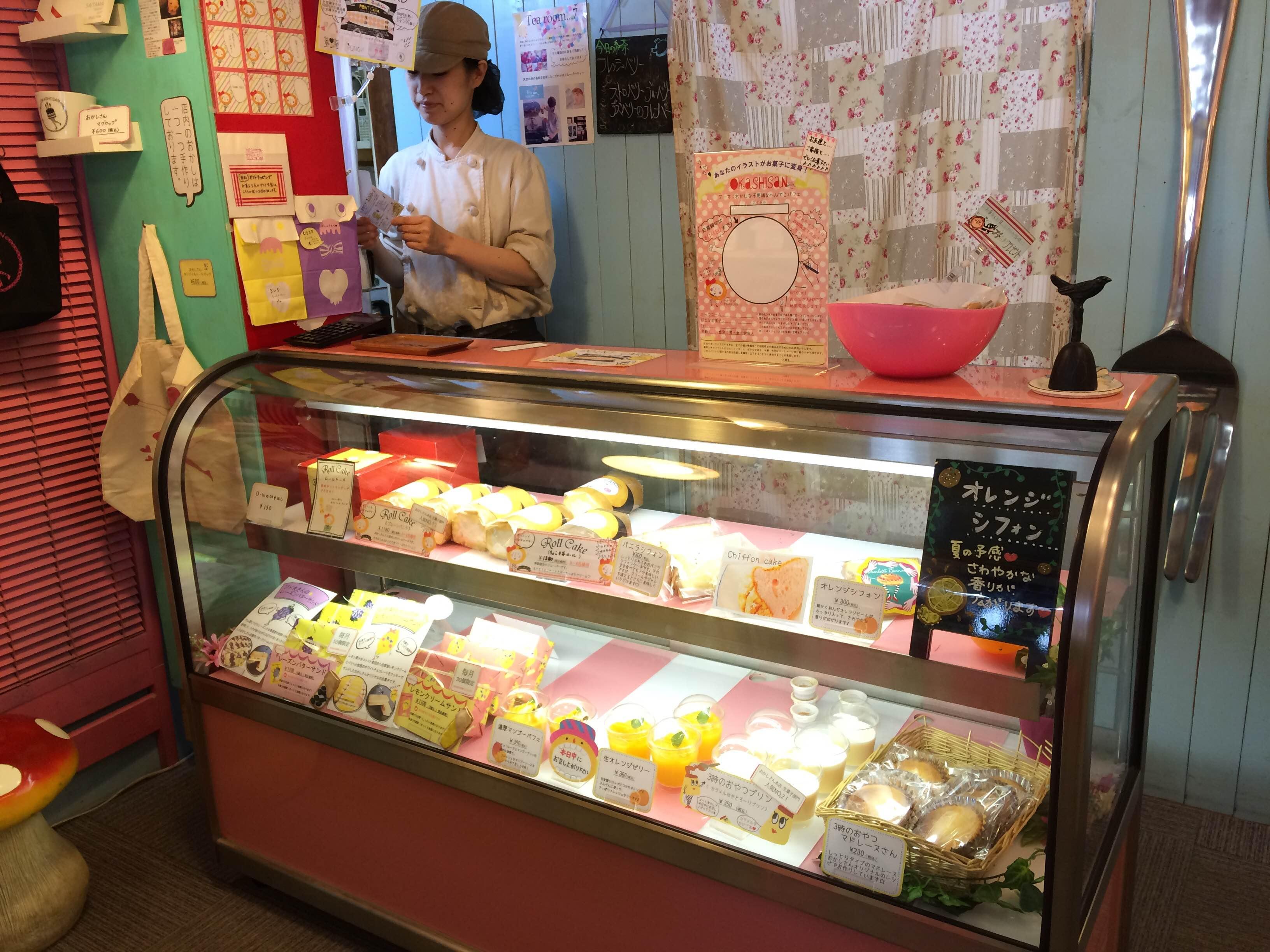 さいたま市にある洋菓子店のケーキ