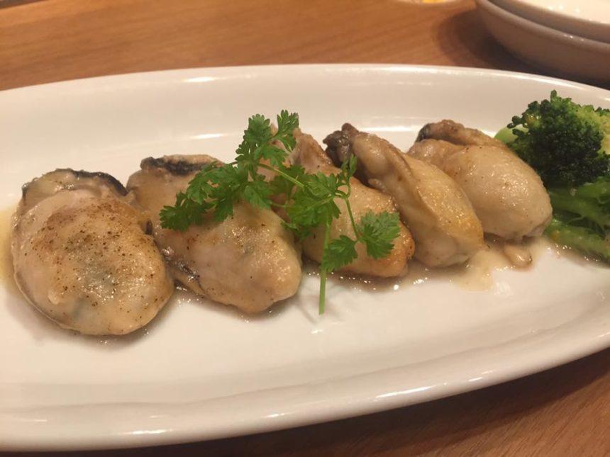 アイリス 牡蠣のバターソテー