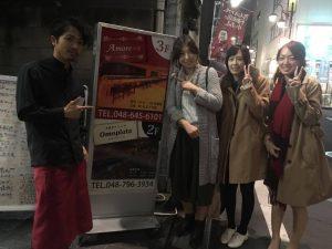 大宮ダイニングオモプラッタ イケメン 女子会