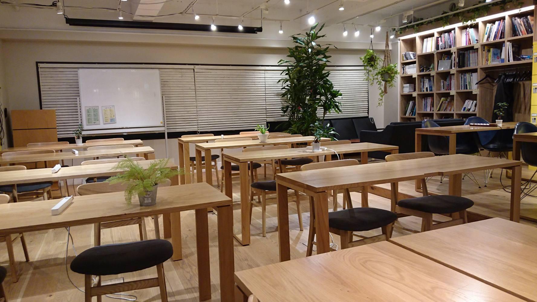 pc利用可能な電源カフェ