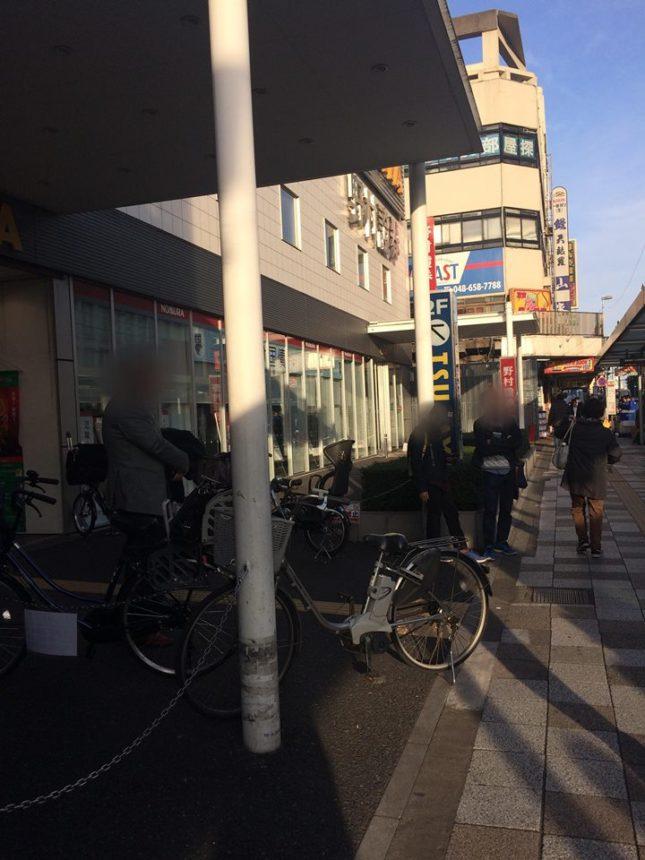 大宮駅東口TSUTAYA周辺