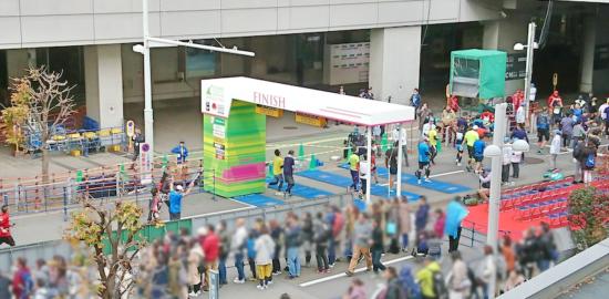 さいたま国際マラソン_FINISH_LINE