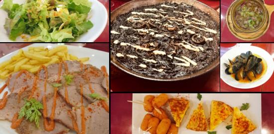 バル デ エスパーニャ セロ 料理